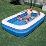 "106"" x 69""  Family Size Swimming / Paddling Pool"