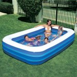 10ft x 6ft Family Size Swimming / Paddling Pool
