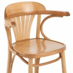 St Louis Oak Wooden Kitchen Stool