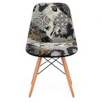 Pacino Real Leather Stool Black