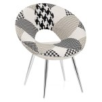 Maverick Chair Black Fabric