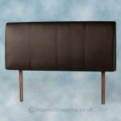 Palermo Faux Leather Headboard Brown