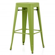 Destiny Brushed Stool White