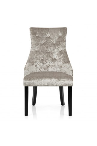 Ascot Dining Chair Mink Velvet Atlantic Shopping