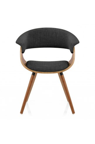 Grafton Dining Chair Walnut Amp Grey Atlantic Shopping