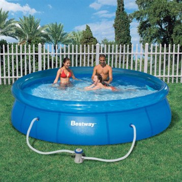 12 ft Fast Set Paddling / Swimming Pool with Filter
