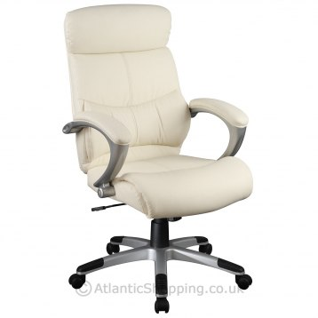 Executive Cambridge Office Chair Cream