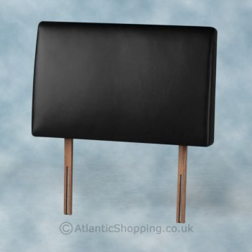 Palermo Faux Leather Headboard Black