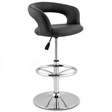 Monza Kitchen Bar Stool Black