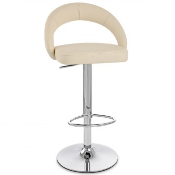 Halo Bar Stool Cream