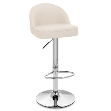 Mimi Chrome Stool Cream