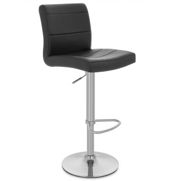 Brushed Steel Breakfast Bar Stool