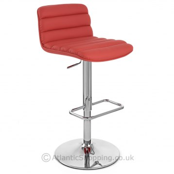 Melody Bar Stool Red