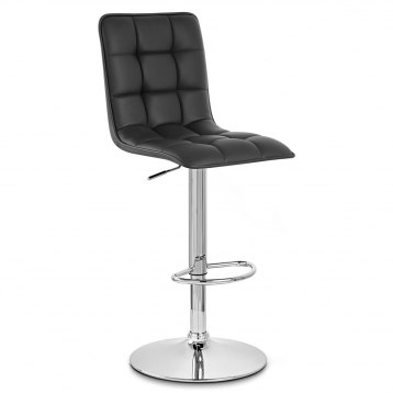 Milano Bar Stool Black