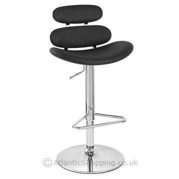 Designer Bar Stool Black