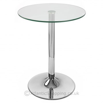 Glacier Round Dining Table