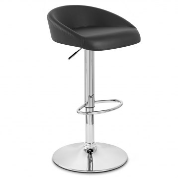 Couture Bar Stool Black