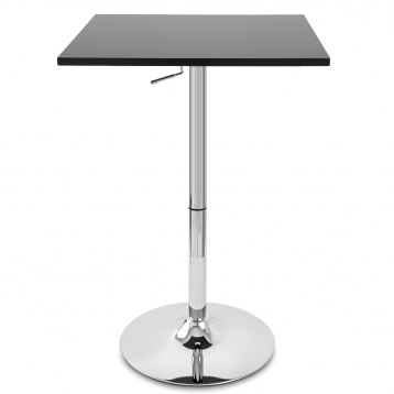 Embassy Gas Lift Bar Table Black