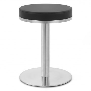 Brushed Crescent Stool