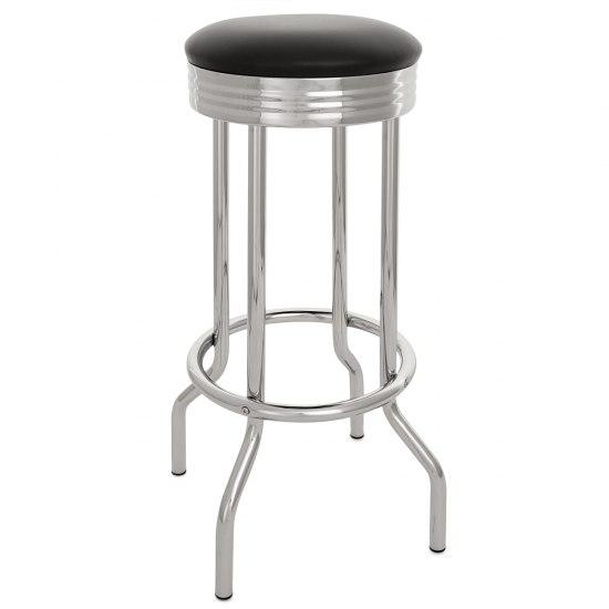 american diner stool black atlantic shopping. Black Bedroom Furniture Sets. Home Design Ideas