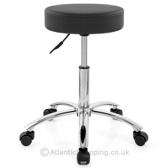 Swivel Stool With Wheels Black Atlantic Shopping : 38169 from www.atlanticshopping.co.uk size 550 x 550 jpeg 23kB