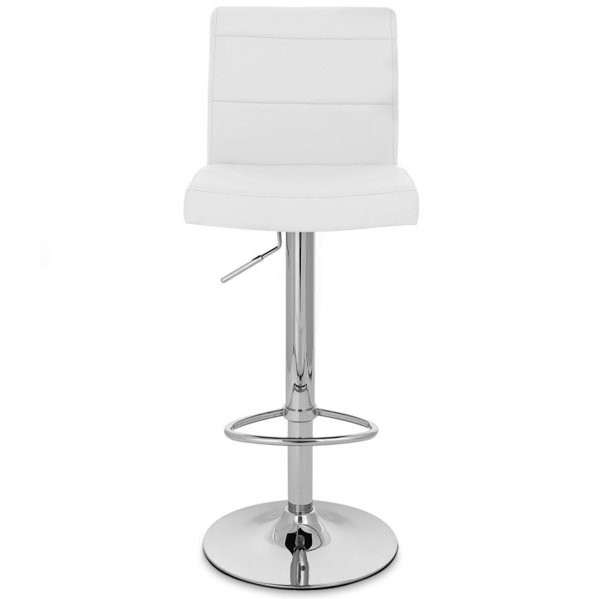 chrome breakfast bar stool white atlantic shopping