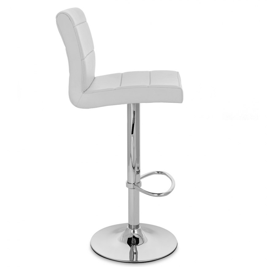 Chrome Breakfast Bar Stool Grey Atlantic Shopping