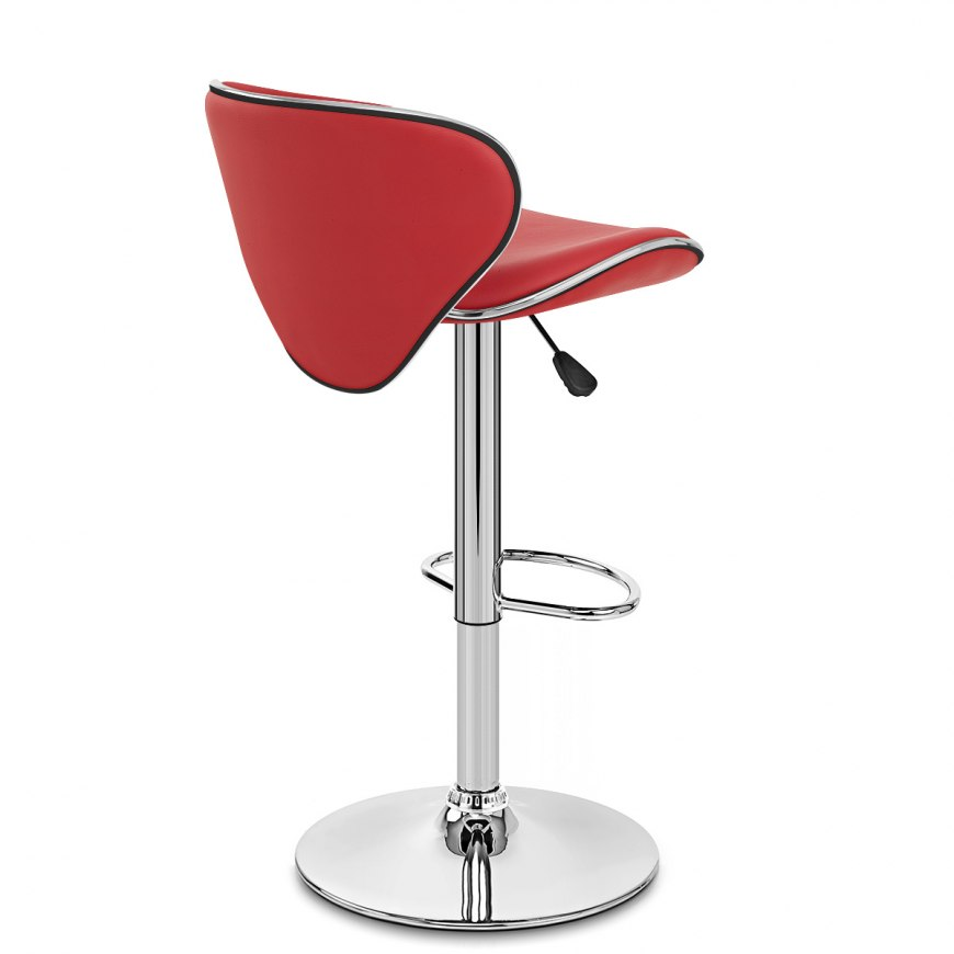 Duo Bar Stool Red Atlantic Shopping