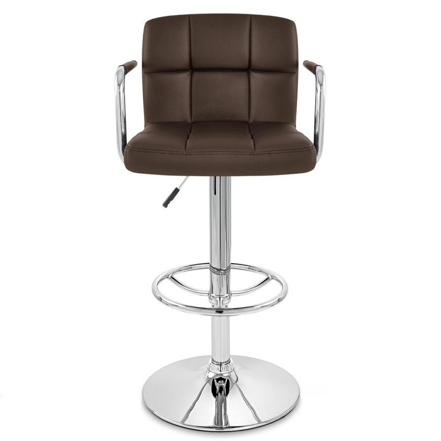 maze bar stool brown atlantic shopping. Black Bedroom Furniture Sets. Home Design Ideas