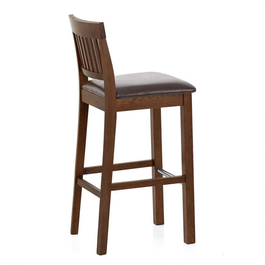 Bamboo Bar Stool Orange Atlantic Shopping