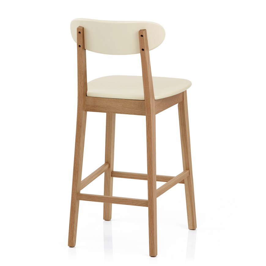 Crescent Bar Stool Orange Atlantic Shopping