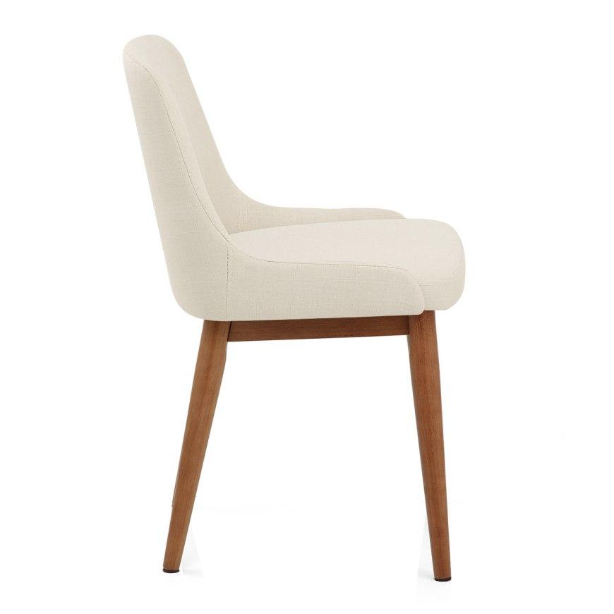 Ramsay walnut dining chair black leather atlantic shopping - Atlantic shopping dining chairs ...