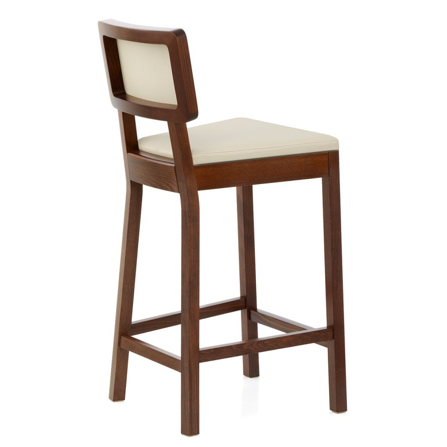 Oak Bar Stools ~ Grasmere oak bar stool white atlantic shopping
