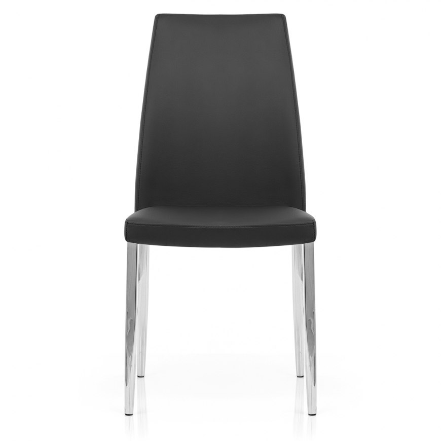 Monochrome patchwork eames style dsw chair atlantic shopping for Chaise eames dsw style patchwork