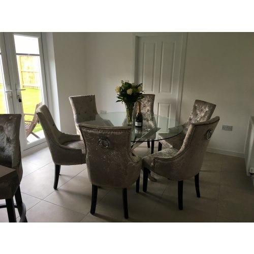 Ascot Dining Chair Mink Velvet Atlantic Shopping : 1690 from www.atlanticshopping.co.uk size 500 x 500 jpeg 39kB