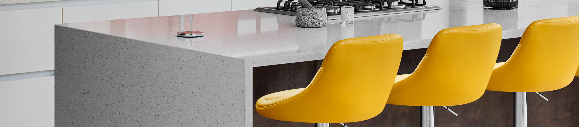Yellow Bar Stools