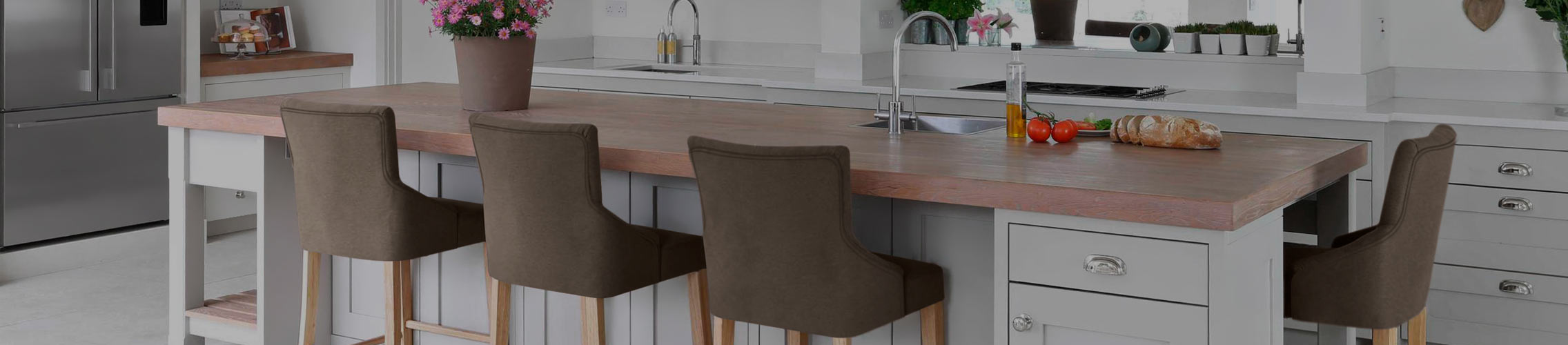 Brown Breakfast Bar Stools