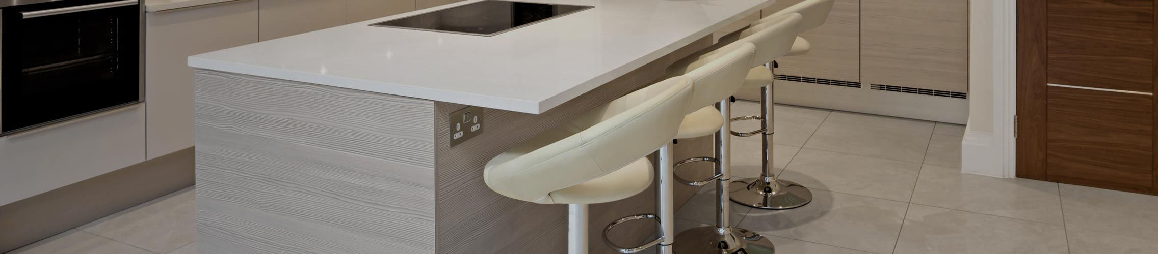 Cream Breakfast Bar Stools
