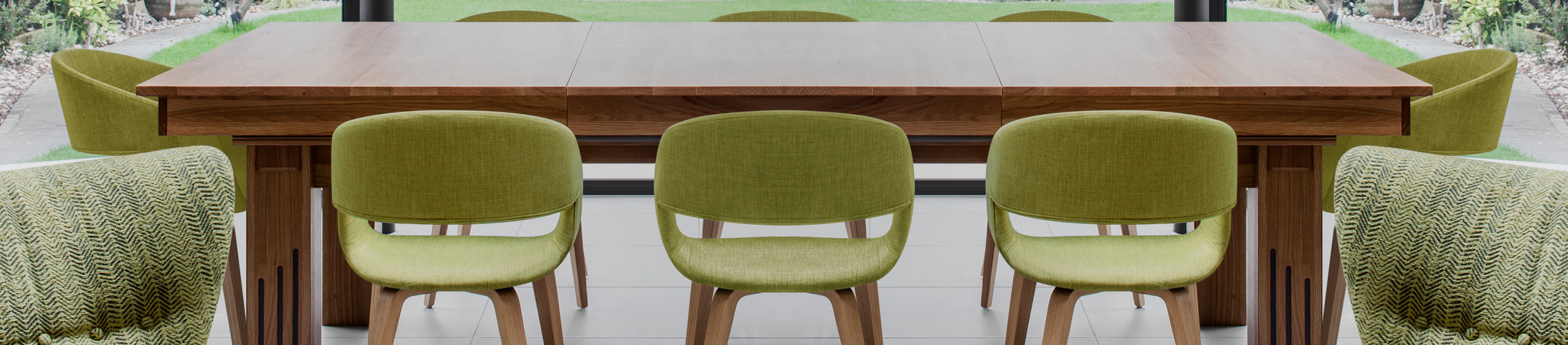 Green Kitchen Dining Chairs