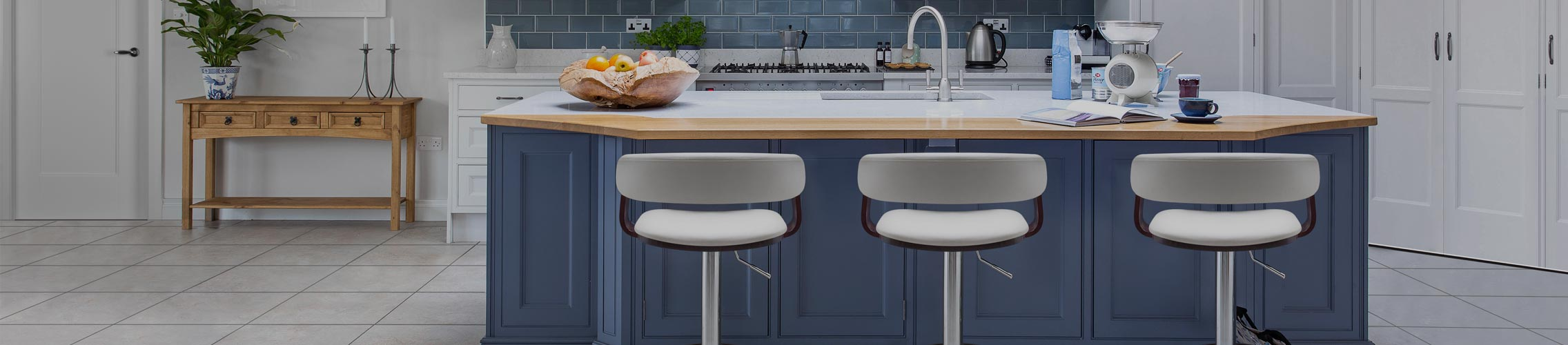 Gas Lift Kitchen Stools