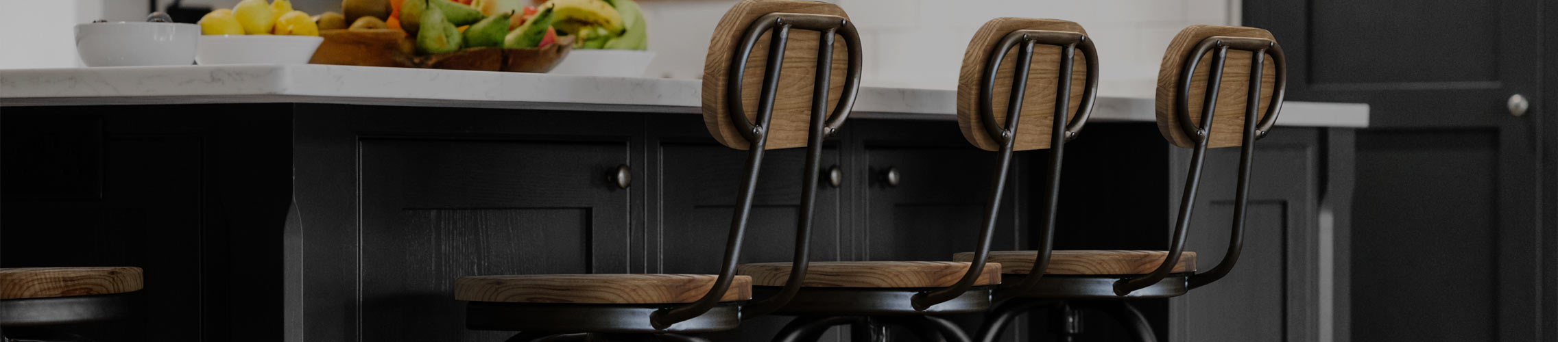 Kitchen Stools With Backs