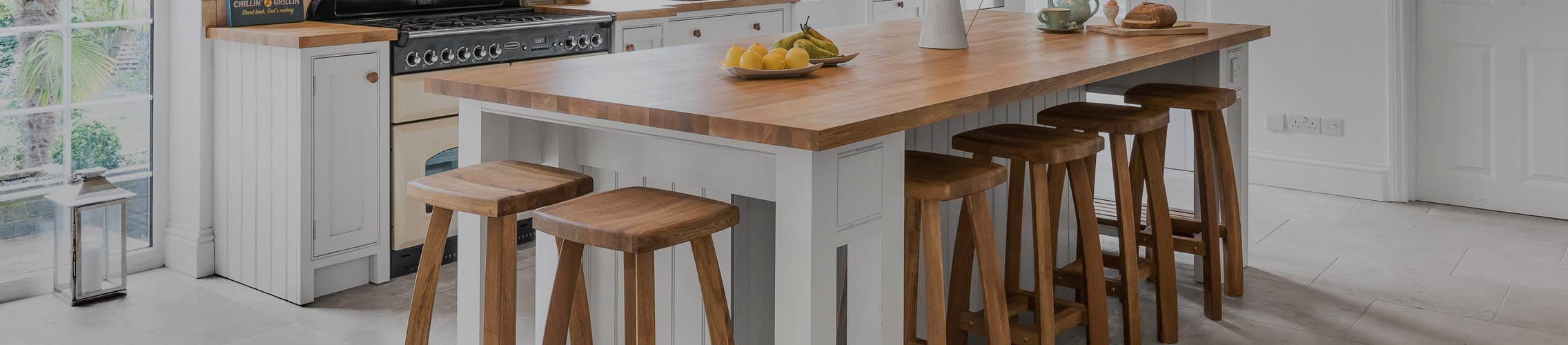 Wooden Kitchen Stools