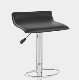 Mars Bar Stool Black