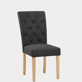 Vigo Chair Oak and Grey
