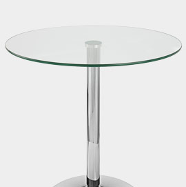 XL Glacier Round Dining Table