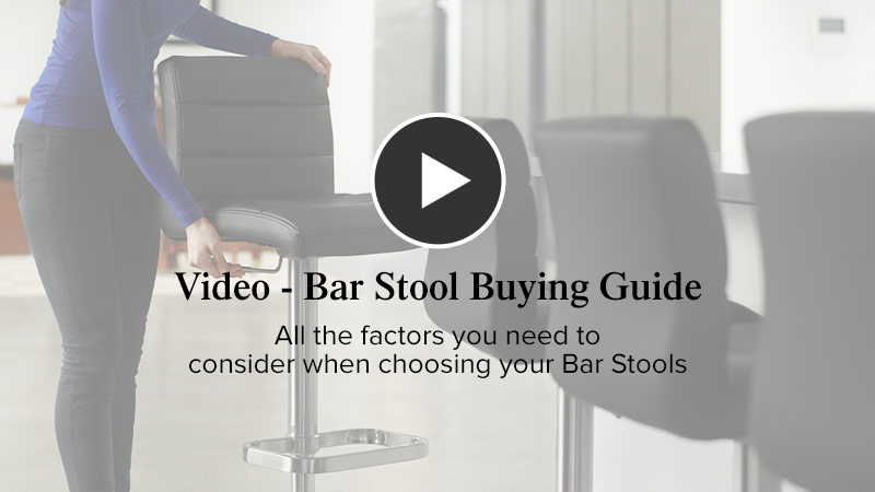 Bar Stool Advice Video