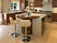 Stools With Backrest Photograph