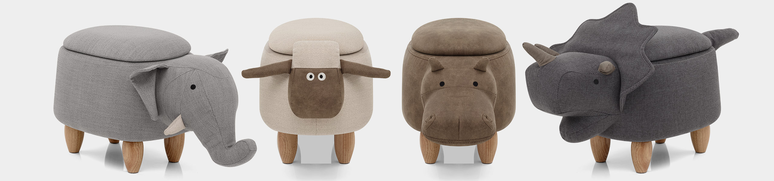Sheep Children's Storage Stool Video Banner