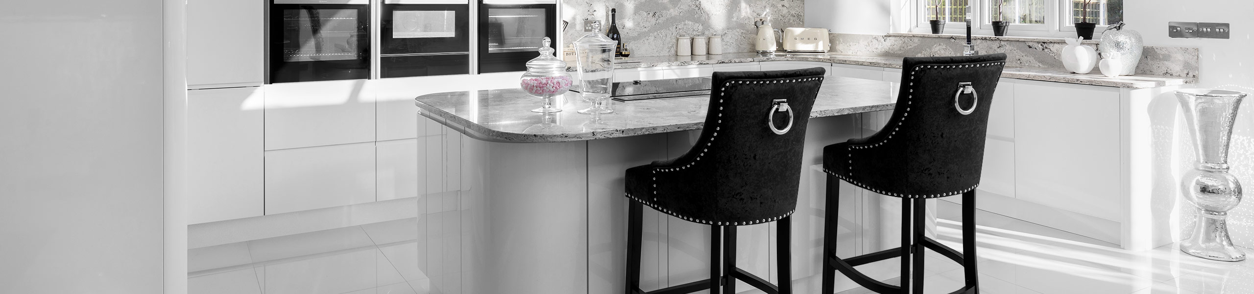 Ascot Bar Stool Black Velvet Video Banner