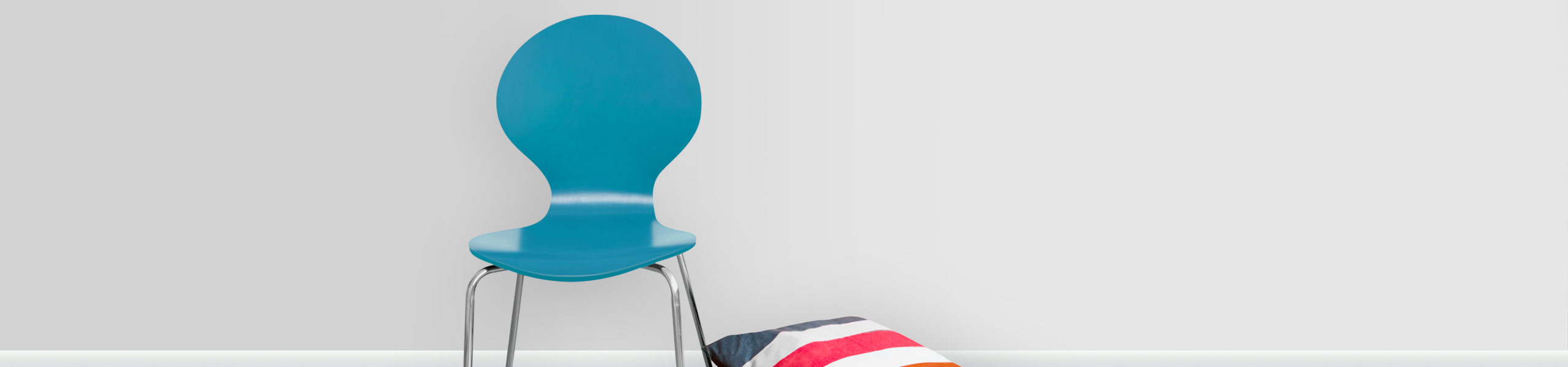 Candy Chair Blue Video Banner